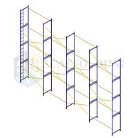 ✅Леса строительные рамного типа  12 х 6 h