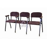 """Стул """"Алиса-трио П"""" для аудитории, стулья  для зоны ожидания"""