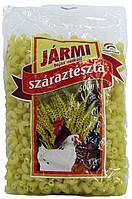 Макарони Jarmi-fele Ріжки Виті 500г Угорщина, фото 1