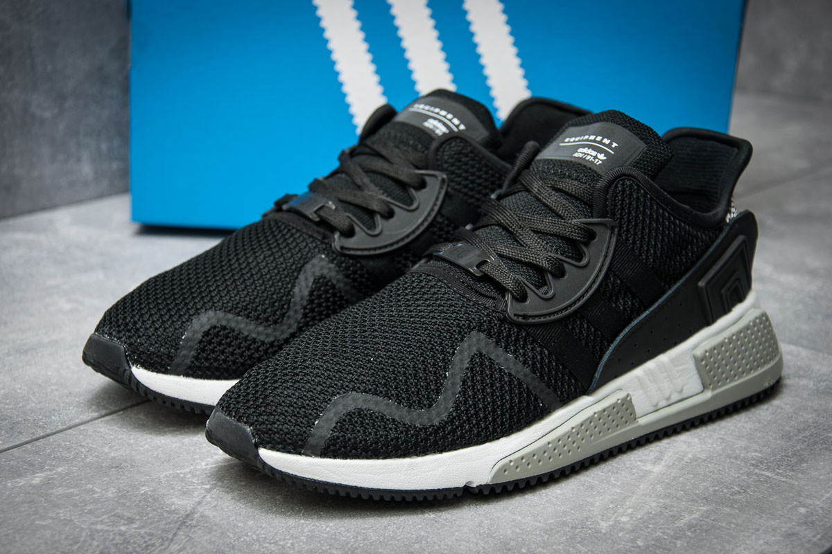 Кроссовки мужские 11842, Adidas  EQT Cushion ADV, черные ( 44  )