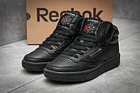 Кроссовки женские Reebok  Club C 85 Face, черные (12381) размеры в наличии ► [  37 39  ], фото 1