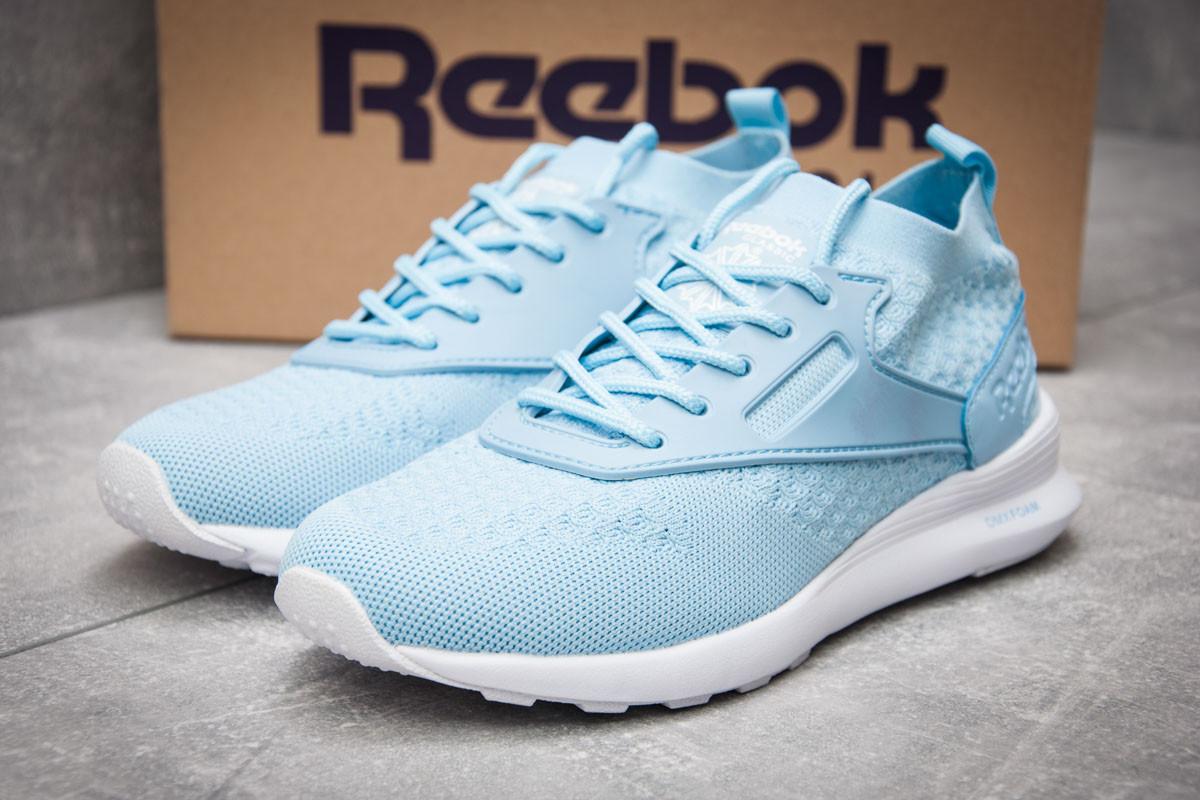 Кроссовки женские 12463, Reebok  Zoku Runner, голубые ( 40  )
