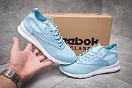 Кроссовки женские 12463, Reebok  Zoku Runner, голубые ( 40  ), фото 2