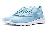 Кроссовки женские 12463, Reebok  Zoku Runner, голубые ( 40  ), фото 7