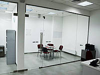 Изготовление перегородок из стекла для дома и офиса