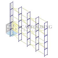 ✅Леса строительные рамного типа 12 х 10 h