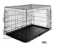 Клетка для собак XXL, манеж 122x76x83