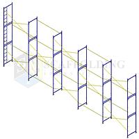 ✅Леса строительные рамного типа  15 х 6 h