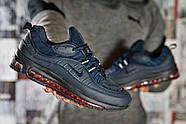 Кроссовки мужские 12672, Nike Aimax Supreme, темно-синие ( 41 42 43 45 46  ), фото 6