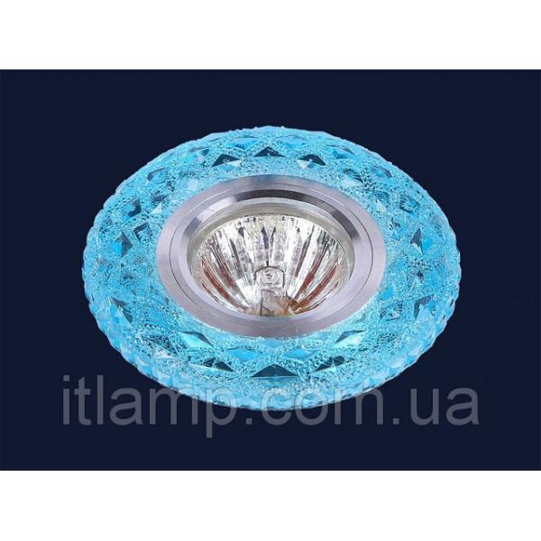 Голубое стекло с насечками Levistella 705A44
