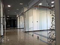 23 Раздвижная стеклянная перегородка для магазинов - Раздвижная перегородка из стекла для магазинов
