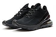 Кроссовки мужские 13421, Nike Air Max 270, черные ( 41  ), фото 7