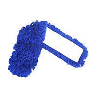 Моп плоский акрил с карманами для швабры 80 см, Насадка МОП на швабру для сухой уборки