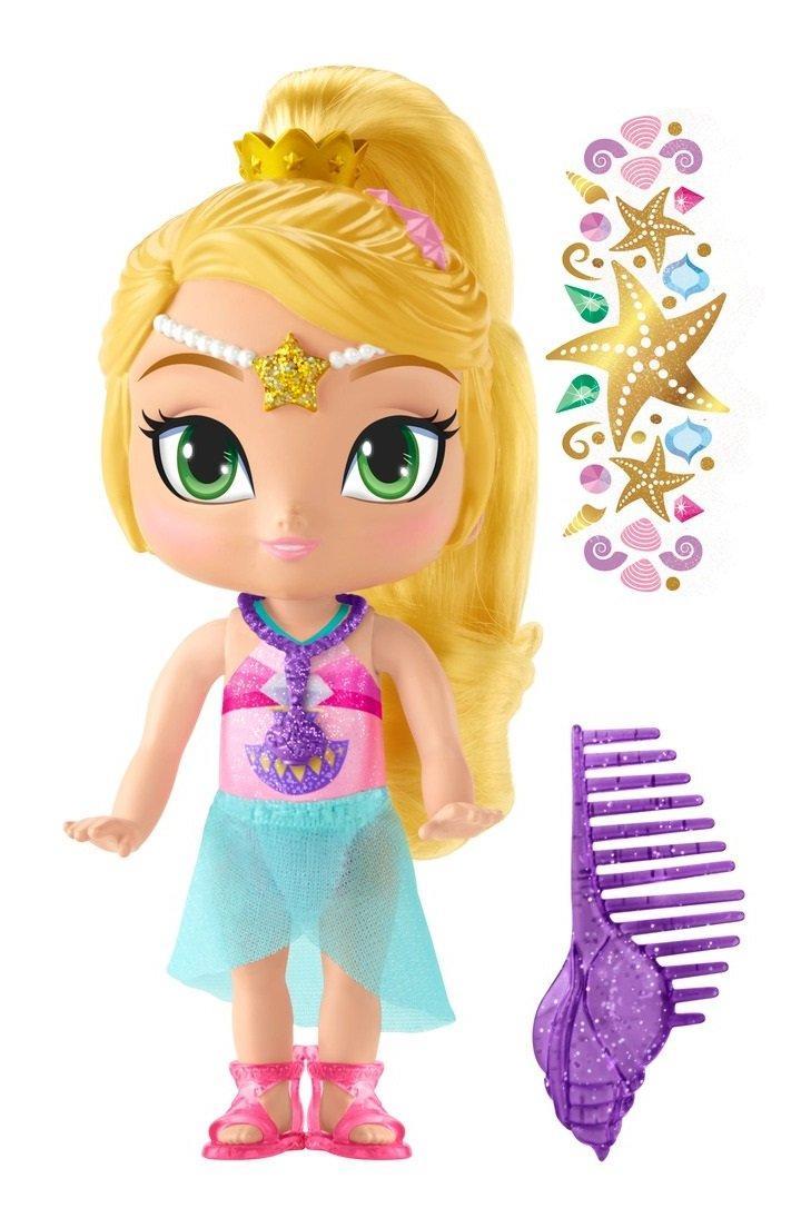 Кукла Лия из мультфильма Шиммер и Шайн Fisher-Price Nickelodeon Shimmer & Shine, Genie Beach Leah Doll