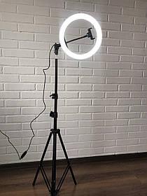 Кольцевая лампа 26 см светодиодная для фото кольцевой свет светодиодное кольцо со штативом с держателем