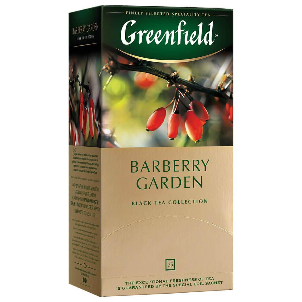 Чай пакетированный Greenfield Barberry Garden 25 х 1.5г
