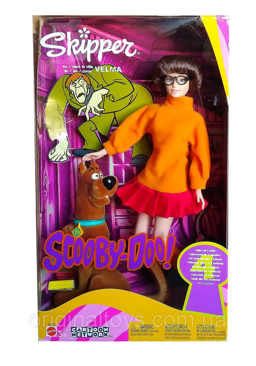 Коллекционная кукла Барби Скиппер Велма Скуби-Ду Barbie Skipper Velma Scooby-Doo 2002 Mattel