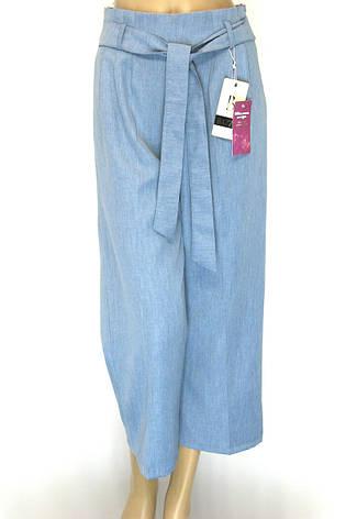 Жіночі широкі брюки кюлоти, фото 2