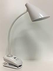 Настільна лампа RIGHT HAUSEN LED OREON 6W (прищепка) HN-245201