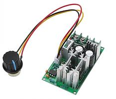 Контролер ШІМ. Управління швидкістю двигуна постійного струму з регулюванням 10-60В 20А