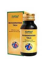 Маханараян масло 100 мл - миозит, радикулиты, ишиалгия, травмы суставов, связок, сухожилий, мышц, Mahanarayan