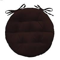 Подушка для кресла  Color круглая 40*40*5 см Коричневый