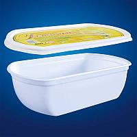Пластиковая упаковка для семейного мороженого
