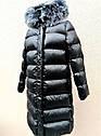 Пальто пуховик детское зимнее на девочку Размеры 140- 164, фото 2