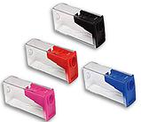 Точилка для олівців кольорова з контейнером 125LV Faber-Castell, фото 2