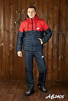 Мужской очень теплый лыжный костюм на овинке 46 48 50 52 54р.(4 расцв), фото 1