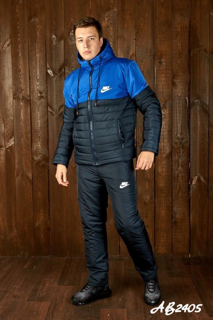 Мужской очень теплый лыжный костюм на овинке 46 48 50 52 54р.(4 расцв)