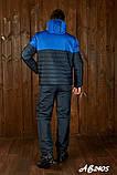 Мужской очень теплый лыжный костюм на овинке 46 48 50 52 54р.(4 расцв), фото 6