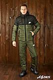 Мужской очень теплый лыжный костюм на овинке 46 48 50 52 54р.(4 расцв), фото 9