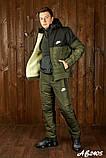 Мужской очень теплый лыжный костюм на овинке 46 48 50 52 54р.(4 расцв), фото 10