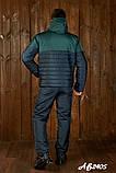 Мужской очень теплый лыжный костюм на овинке 46 48 50 52 54р.(4 расцв), фото 2