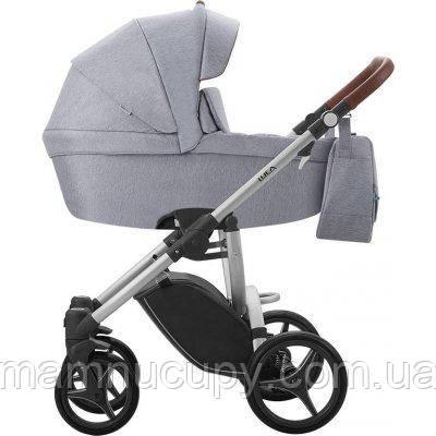 Детская универсальная коляска 2 в 1 Bebetto Luca (12) Серый / Серая рама