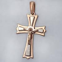 Золотой православный крестик. ПП529