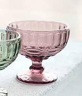 "Набор креманок 6 шт ""Винтаж"" розовых 250 мл, 34215-14-9"
