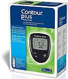 Глюкометр Contour Plus + 100шт тест полосок., фото 3