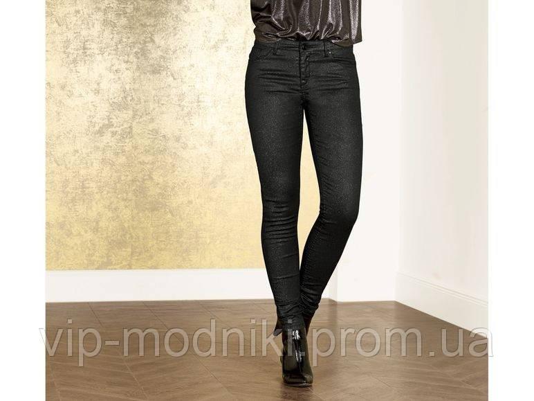 Крутые модные джинсы с блестками esmara евро размер s 38 наш примерно 44.