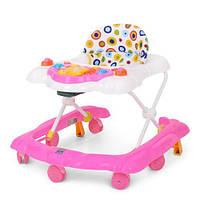 Ходунки для малышей M 4023 звуковые и световые эффекты для детей о 6 месяцев