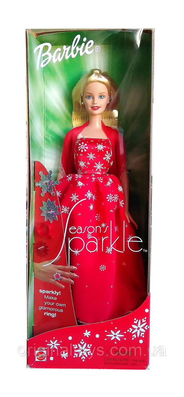 Колекційна лялька Барбі Seasons Sparkle 2001 Mattel 55198