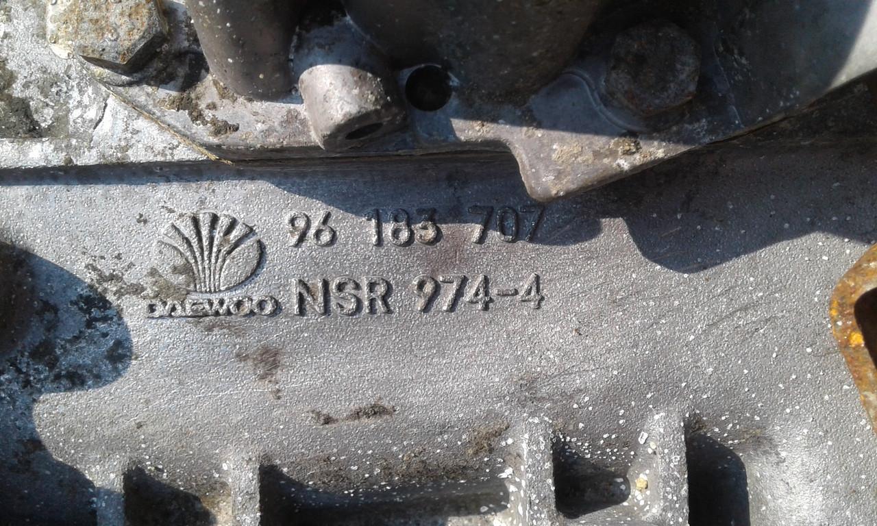Б/у КПП для Daewoo Lanos 1.5 B, 96 183 707, Daewoo NSR 974-4