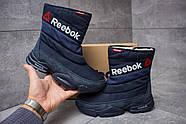 Зимние женские ботинки 30273, Reebok  Keep warm, темно-синие ( 38  ), фото 2