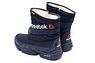 Зимние женские ботинки 30273, Reebok  Keep warm, темно-синие ( 38  ), фото 7