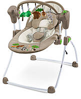 Кресло качалка Caretero Forest Brown