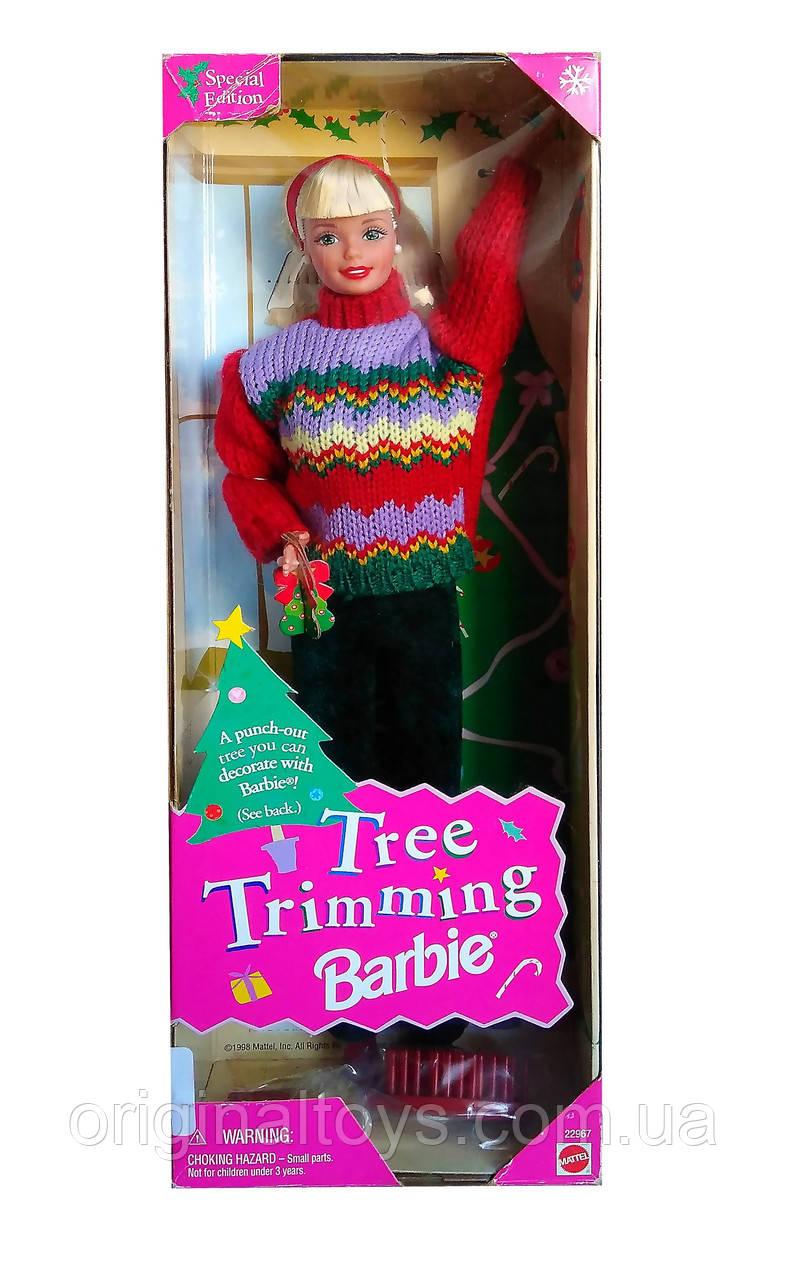 Коллекционная кукла Барби Tree Trimming 1998 Mattel 22967