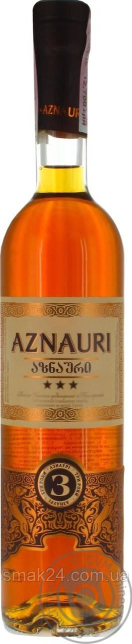 Коньяк Aznauri (Азнаури***) 0,25 л Грузия