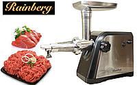 Мясорубка Rainberg 3000W электрическая с реверсом + соковыжималка