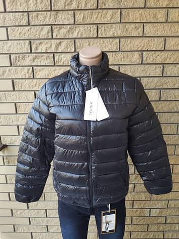 Куртка унисекс демисезонная стеганая брендовая XINYA, фото 2